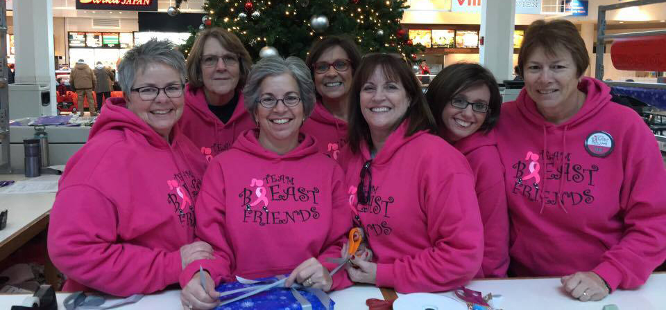 Team Breast Friends Gift Wrapping